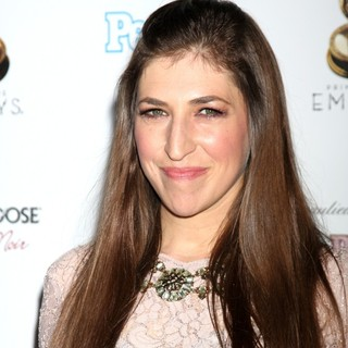 Mayim Bialik in 64th Primetime Emmy Awards Performers Nominee Reception
