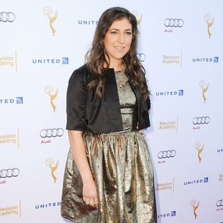 Mayim Bialik - The 66th Emmy Award Performers Nominee Reception - Arrivals