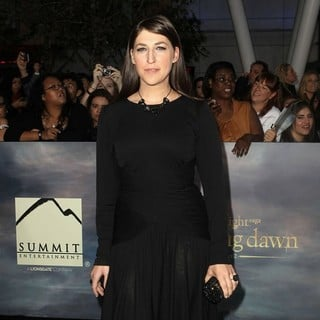 Mayim Bialik in The Premiere of The Twilight Saga's Breaking Dawn Part II