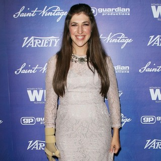Mayim Bialik in Variety and Women in Film Pre-EMMY Event Presented by Saint Vintage