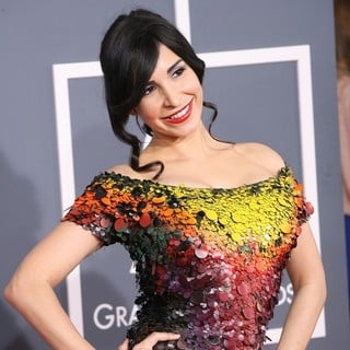 Mayra Veronica in 54th Annual GRAMMY Awards - Arrivals