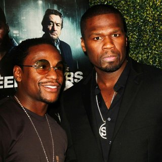 50 Cent - The Lionsgate Home Entertainment and Grindstone VIP Screening of Freelancers