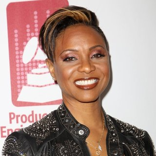 MC Lyte in 56th GRAMMY Awards - P and E Wing Event Honoring Neil Young