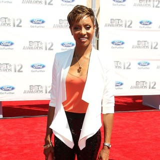 MC Lyte in The BET Awards 2012 - Arrivals