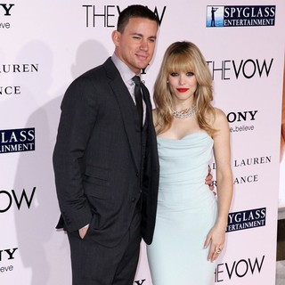 Channing Tatum, Rachel McAdams in The Vow Los Angeles Premiere