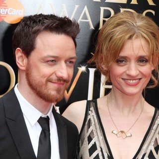 Anne-Marie Duff in The Olivier Awards 2013 - Arrivals - mcavoy-duff-olivier-awards-2013-01