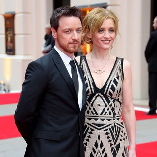 Anne-Marie Duff in The Olivier Awards 2013 - Arrivals - mcavoy-duff-olivier-awards-2013-02