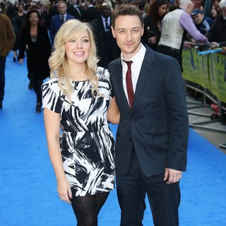 Joy McAvoy, James McAvoy in Filth UK Film Premiere - Arrivals