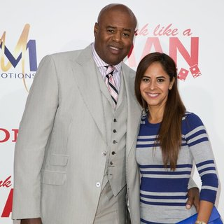 Chi McBride, Julissa Marquez in Film Premiere of Think Like a Man Too