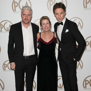 Eddie Redmayne in 26th Annual Producers Guild of America Awards - Arrivals - mccarten-bruce-redmayne-26th-annual-producers-guild-of-america-awards-02