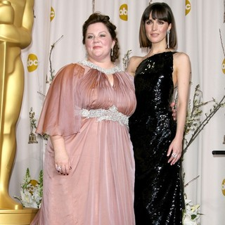 Melissa McCarthy, Rose Byrne in 84th Annual Academy Awards - Press Room