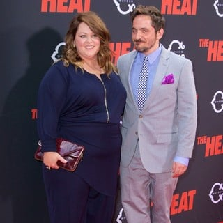 Melissa McCarthy, Ben Falcone in New York Premiere of The Heat - Red Carpet Arrivals
