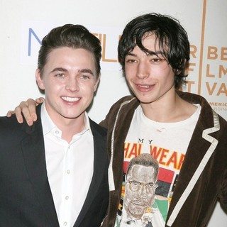 Jesse McCartney, Ezra Miller in 9th Annual Tribeca Film Festival - Premiere of Beware the Gonzo - Arrivals