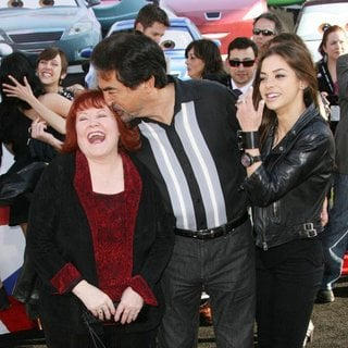 Edie McClurg, Joe Mantegna, Gia Mantegna in The Los Angeles Premiere of Cars 2 - Arrivals