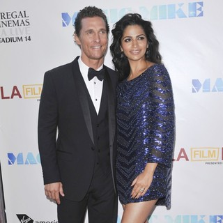Matthew McConaughey, Camila Alves in 2012 Los Angeles Film Festival - Closing Night Gala - Premiere Magic Mike
