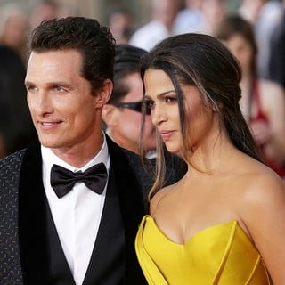 Matthew McConaughey, Camila Alves in The 20th Annual Screen Actors Guild Awards - Arrivals