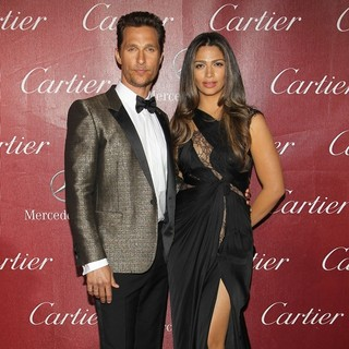 Matthew McConaughey, Camila Alves in 25th Anniversary Palm Springs International Film Festival - Arrivals