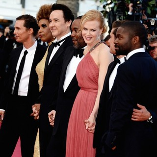 Matthew McConaughey, Macy Gray, John Cusack, Lee Daniels, Nicole Kidman, Zac Efron, David Oyelowo in The Paperboy Premiere - During The 65th Cannes Film Festival