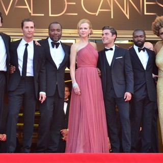 Matthew McConaughey, John Cusack, Lee Daniels, Nicole Kidman, Zac Efron, David Oyelowo, Macy Gray in The Paperboy Premiere - During The 65th Cannes Film Festival