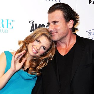AnnaLynne McCord, Dominic Purcell in Women's Rebuild for The St. Bernard Project