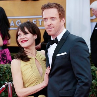 Helen McCrory, Damian Lewis in 19th Annual Screen Actors Guild Awards - Arrivals