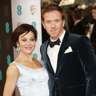 Helen McCrory, Damian Lewis in The 2013 EE British Academy Film Awards - Arrivals