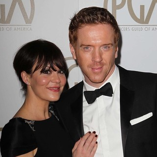 Helen McCrory, Damian Lewis in 24th Annual Producers Guild Awards - Arrivals