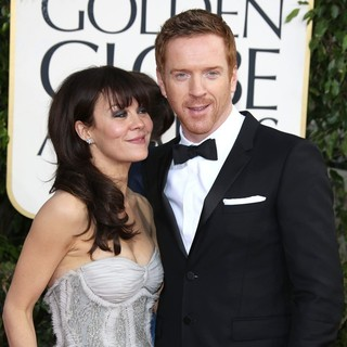 Helen McCrory, Damian Lewis in 70th Annual Golden Globe Awards - Arrivals