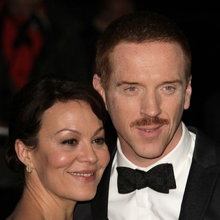 Helen McCrory, Damian Lewis in London Evening Standard Theatre Awards - Arrivals