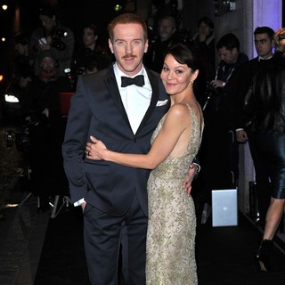Damian Lewis, Helen McCrory in London Evening Standard Theatre Awards - Arrivals