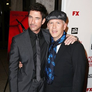 Dylan McDermott, Ryan Murphy in Premiere of FX's American Horror Story