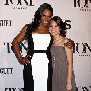 Audra McDonald, Zoe Madeline Donovan in The 67th Annual Tony Awards - Arrivals