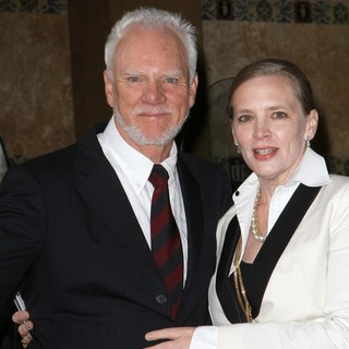 Malcolm McDowell, Kelley Kuhr in The Hollywood Walk of Fame Honors Malcolm McDowell