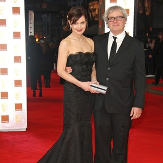 Elizabeth McGovern, Simon Curtis in Orange British Academy Film Awards 2012 - Arrivals