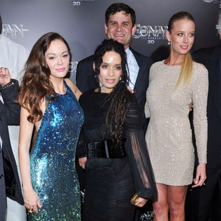 Rose McGowan, Lisa Bonet, Rachel Nichols in The LA Premiere of Conan the Barbarian