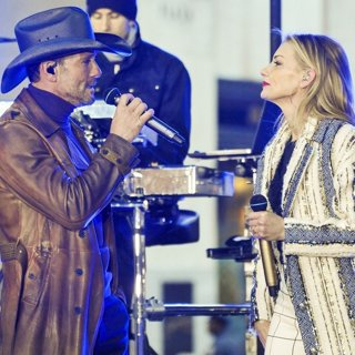 Tim McGraw and Faith Hill Perform at The Today Show Concert Series
