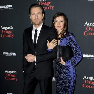Ewan McGregor, Eve Mavrakis in The Weinstein Company Presents The LA Premiere of August: Osage County