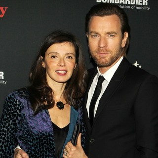 Eve Mavrakis, Ewan McGregor in The Weinstein Company Presents The LA Premiere of August: Osage County