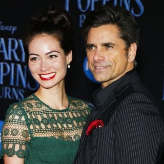Caitlin McHugh, John Stamos in Mary Poppins Returns Premiere - Arrivals