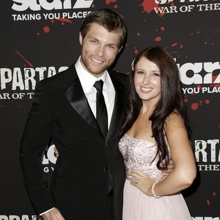Liam McIntyre, Erin Hasan in U.S. Premiere Screening of Spartacus: War of the Damned