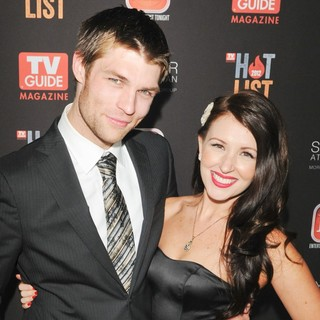 Liam McIntyre, Erin Hasan in TV Guide Hot List Party