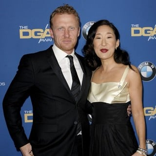 Kevin McKidd, Sandra Oh in The 66th Annual DGA Awards - Arrivals