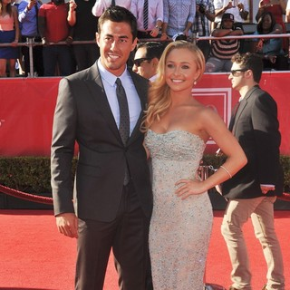 Scotty McKnight, Hayden Panettiere in 2012 ESPY Awards - Red Carpet Arrivals