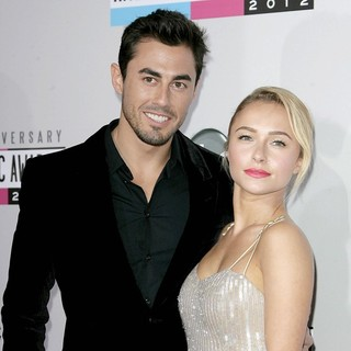 Scotty McKnight, Hayden Panettiere in The 40th Anniversary American Music Awards - Arrivals