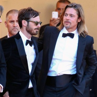Scoot McNairy, Brad Pitt in Killing Them Softly Premiere - During The 65th Cannes Film Festival