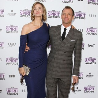 Janet McTeer, Joe Coleman in 27th Annual Independent Spirit Awards - Arrivals