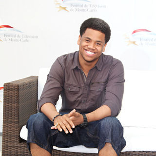 Tristan Wilds in 50th Monte Carlo TV Festival - '90210' - Photocall