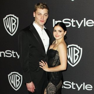 Levi Meaden, Ariel Winter in InStyle Warner Bros Golden Globe After Party 2019