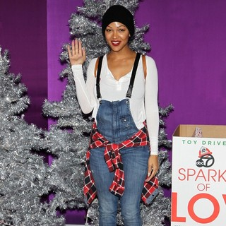Meagan Good in Open Road Films Justin Bieber's Believe Memoir and Concert Film Presented by Teen Vogue