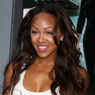 Meagan Good in Los Angeles Premiere of Total Recall